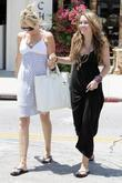Miley Cyrus, Her Mother Tish Spend Saturday Afternoon Eating Lunch At The Studio Cafe, Shopping At M. Fredric Boutique and Royal Dutchess Boutique