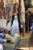 Miley Cyrus, her mother spend Saturday afternoon eating lunch at The Studio Cafe, shopping at M. Fredric boutique, Royal Dutchess boutique