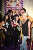 Kourtney Kardashian, Kim Kardashian, Perez Hilton and Spencer Pratt