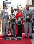 Smokey Robinson, Pete Moore, Claudette Robinson, Bobby Rogers, Star On The Hollywood Walk Of Fame and Walk Of Fame