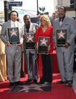 Smokey Robinson, Pete Moore, Claudette Robinson, Bobby Rogers, Star On The Hollywood Walk Of Fame, Walk Of Fame