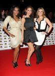 Keisha Buchanan, Amelle Berrabah and Heidi Range of...