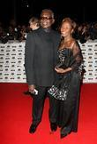 Rudolph Walker The MOBO awards 2008 - arrivals...