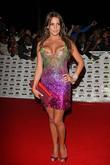 Danielle Lloyd The MOBO awards 2008 - arrivals...