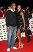 Jamelia with her husband, Darren Byfield The MOBO...