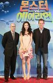 Kiefer Sutherland, Han Ye-Seul and Jeffrey Katzenberg The...