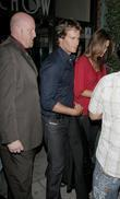 Randy Gerber and wife Cindy Crawford outside Mr...