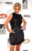 Kerry Katona MTV Europe Music Awards 2008 held...