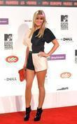 Alex Curran MTV Europe Music Awards 2008 held...