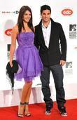 Mikel Arteta and guest MTV Europe Music Awards...