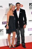 Tim Cahill and guest MTV Europe Music Awards...