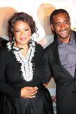 Oprah Winfrey and Jeff Johnson