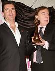 Simon Cowell and Andrew Lloyd-Webber