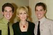 Anthony Nunziata, Judith Light and Will Nunziata backstage...