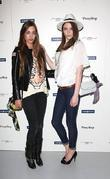 Amber Le Bon and Charlotte Pallister New Look...