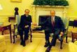 George W Bush and Italian Prime Minister Silvio Berlusconi