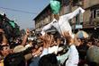 Kashmiri Muslims Shout Pro Freedom Slogans