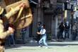 Kashmiri Muslims shout pro freedom slogans