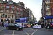 Oxford Street and Regent Street were closed for...