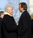 Bill Clinton and Robert F. Kennedy Jr.