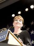 Republican Vice Presidential Candidate Sarah Palin Speaks At A Rally