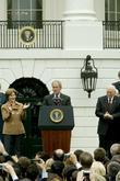 First Lady Laura Bush, President George W. Bush...