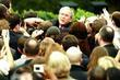 President George W. Bush addressed his staff and...