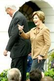 First Lady Laura Bush President George W. Bush...