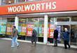 Christmas Shoppers Flock To Woolworths In Edgware