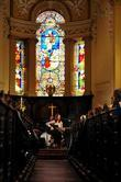 Fran Rodgers performings live at Holy Trinity Church...