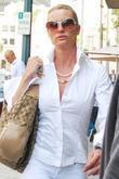 Nicolette Sheridan Visits Longmi Salon In Beverly Hills