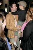 Noah Wyle and Owen Wyle