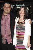 Alfredo De Villa with his wife