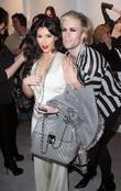 Kim Kardashian and Justin Tranter