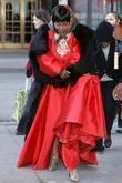 Cicely Tyson Looking Like Little Red Riding Hood