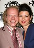 Bruce Cohen and Marisa Tomei The Outfest 2008...