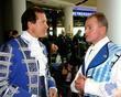 Steve Guttenberg and Bobby Davro