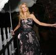 Paris Hilton seen leaving the Ivy Restaurant. Los...