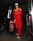 Paris Hilton seen arriving at LAX airport. Los...