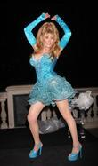 Charo Co-hosts The Pbs Fundraiser At The Bellagio Fountains