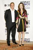Paula Marshall and Jay Mohr