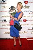 Katherine Heigl and her dog Romeo