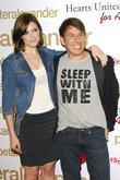 Mandy Moore and Peter Alexander