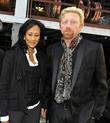 Boris Becker and his future mother-in-law Antonella Meyer-W�lden,...