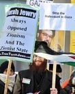 Orthodox Jewish Counter-demonstration At A Pro-israel Rally Held At Trafalgar Square