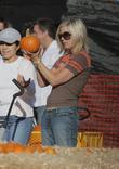 Tori Spelling at Mr. Bones Pumpkin Patch in...