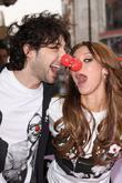 Alex Zane and Una Healy from The Saturdays