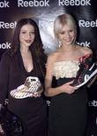 Michelle Trachtenberg and Taylor Momsen