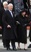John Major and Baroness Margaret Thatcher
