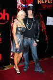 Holly Madison and Criss Angel Lionsgate Premiere of...